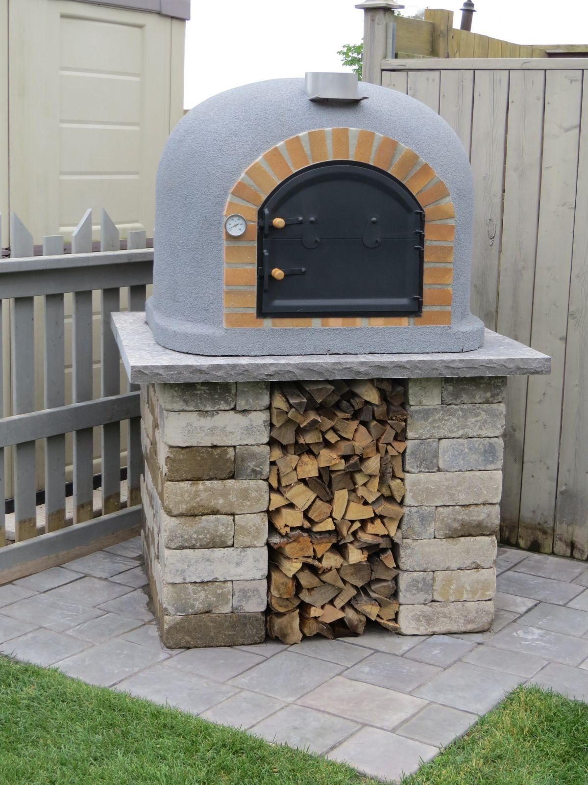 Robot Check Pizza Oven Outdoor Diy Brick Oven Outdoor Pizza