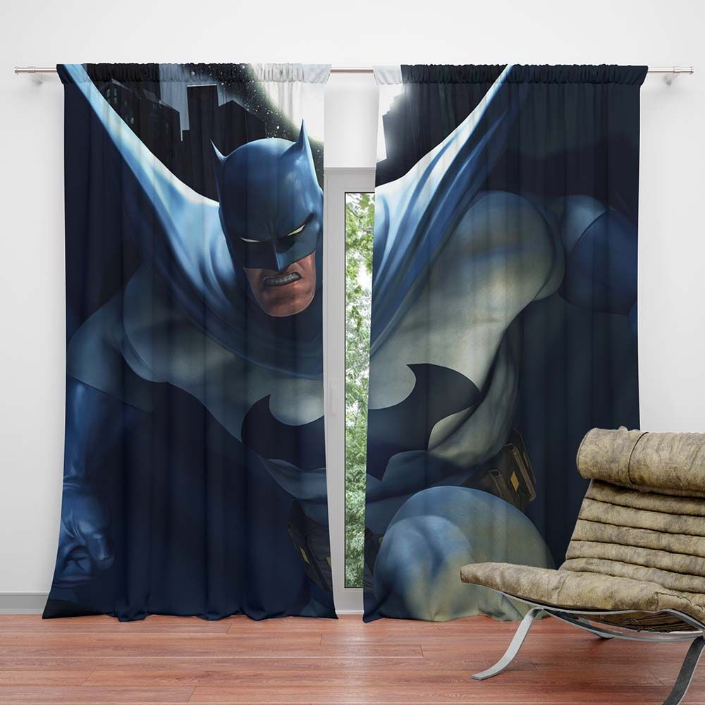 Batman Kids Bedroom Curtain Superhero Bedding Batman Kids Kids