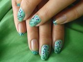 Photo of dotsSsSs FLOWERsss by elham Nail Art Gallery nailartgallery.na by Nails M – d …