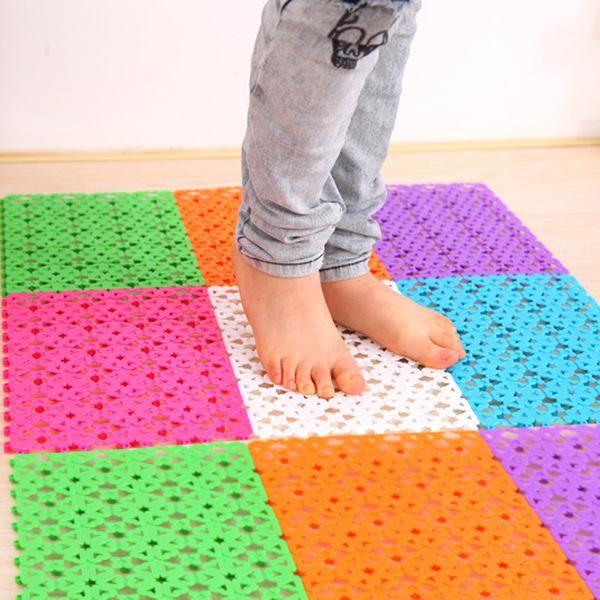 30x20cm Anti Slip Bathroom Carpet Plastic Mage Bape Rug