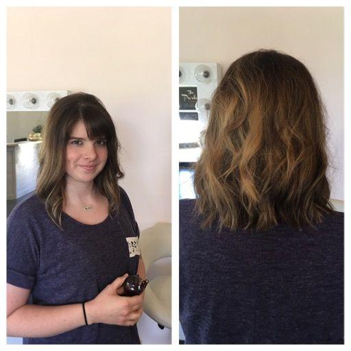 8 inch hair donation to Pantene Beautiful Lengths! Going ...