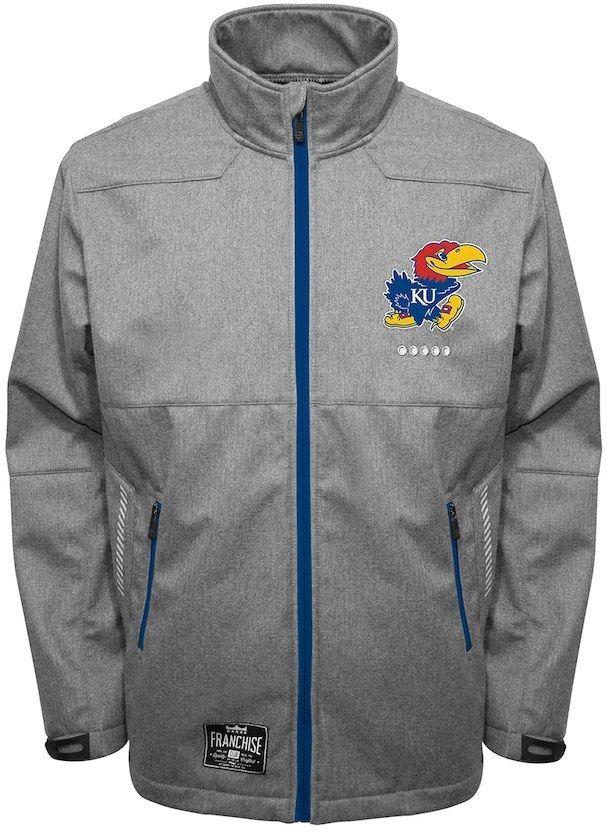 Men's Franchise Club Kansas Jayhawks Tech Fleece Softshell