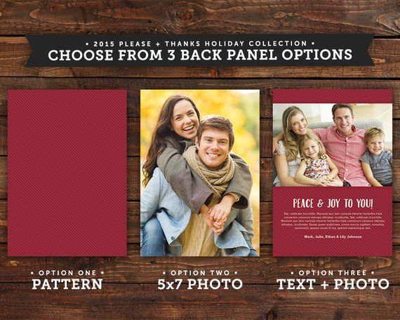Christmas Cards Gold Holiday Cards Photo Holiday Cards Rustic