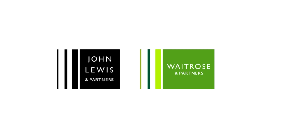 the new logos created for john lewis partners and waitrose rh in pinterest com Brand Identity Manual Brand Identity Guide