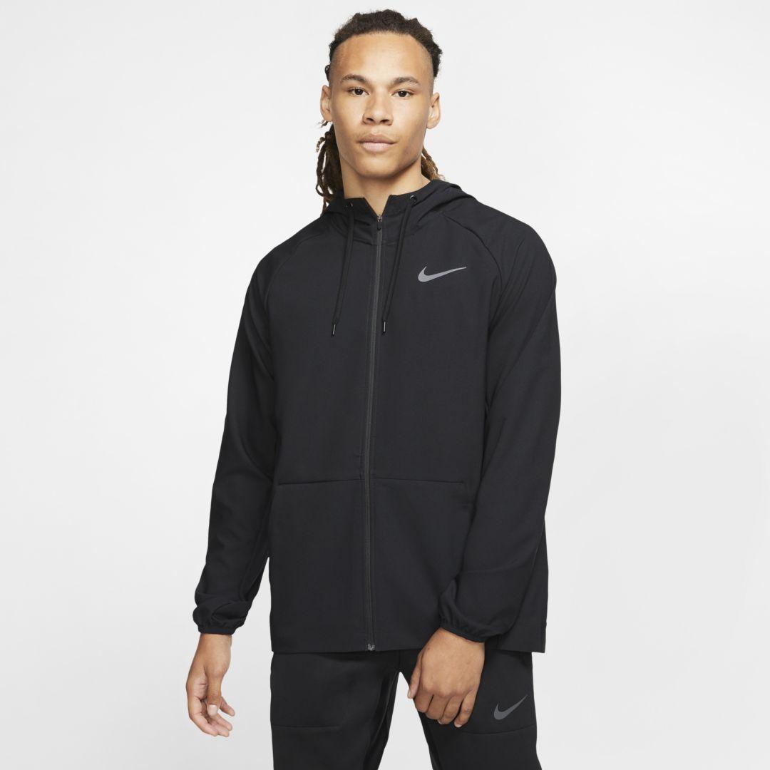 Nike Flex Men's Full-Zip Training Jacket (Black) #fitness transformation quotes Nike Flex Men's Full...