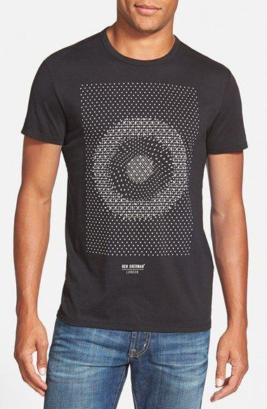 d2bcdb583 Ben Sherman 'Optic Target' Graphic Crewneck T-Shirt | Clothing | T ...