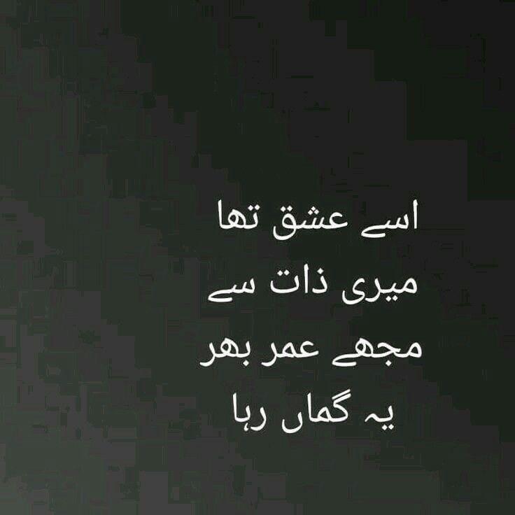 Pin by RANA HAROON on feeling Poetry, Urdu poetry, Urdu