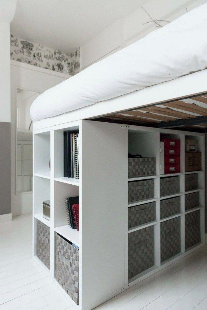 Best Raised Bed Inside Built In Wardrobe 5 Diy Loft Bed Ikea 400 x 300