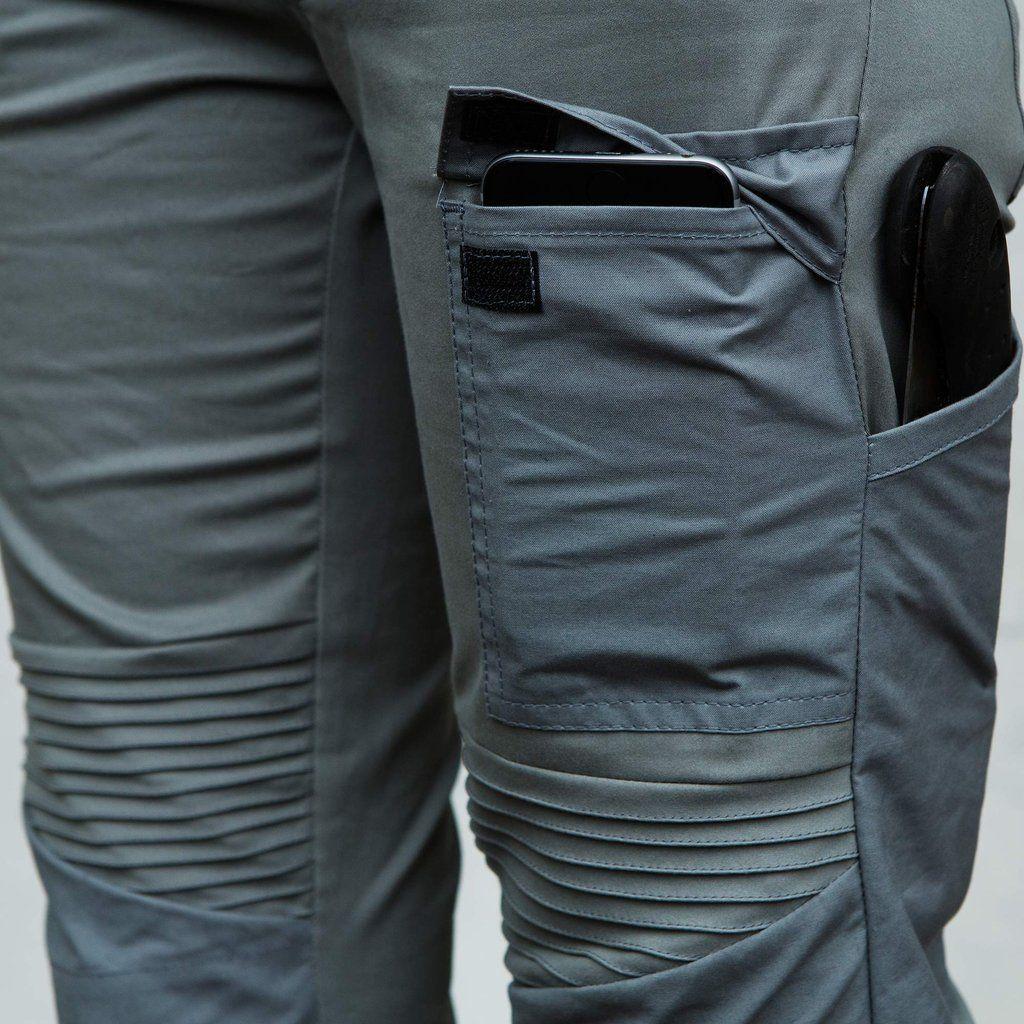 Lilldal 2 10 Astrantia Work Trouser Stone Grey Work Trousers Slim Fit Work Trousers Trousers