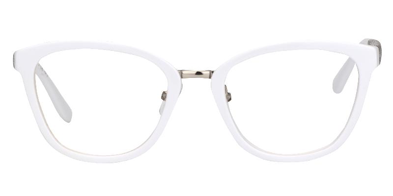 5b5d5415ca747 Hockey Cat Eye White Glasses - Women - SHOP BY GENDER - EYEGLASSES ...