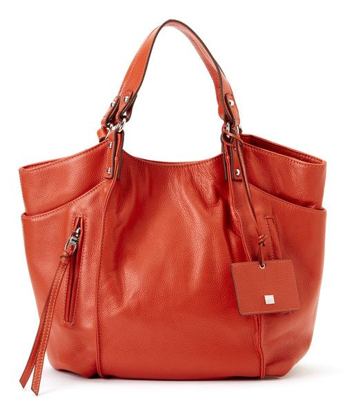 Take a look at the Kooba Flamingo Logan Leather Tote on  zulily today! 7b45466644c85
