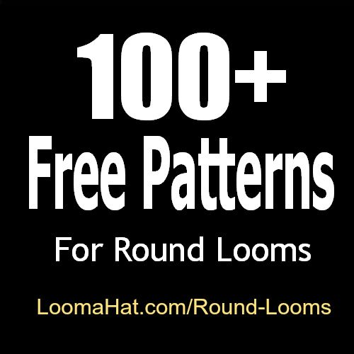 Round Loom Knitting Projects For Beginners : Round loom free knitting patterns easy great