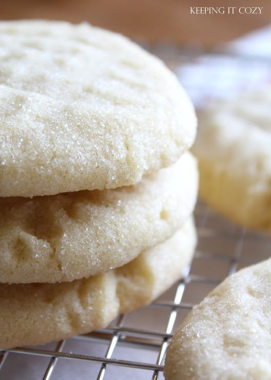 Old Fashioned, melt-in-your-mouth, Sugar Cookies
