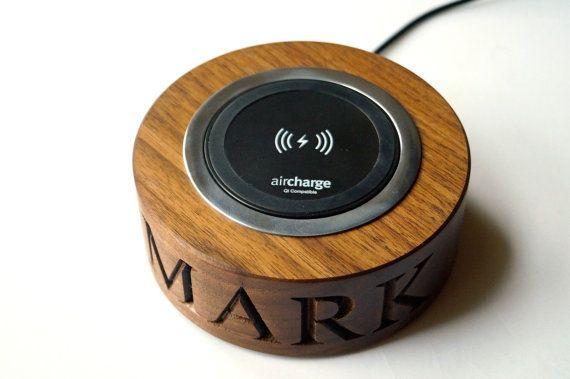 Personalised Wooden Wireless Smartphone