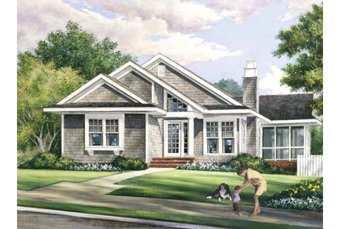 Eplans Craftsman House Plan 1504 Square Feet And 3