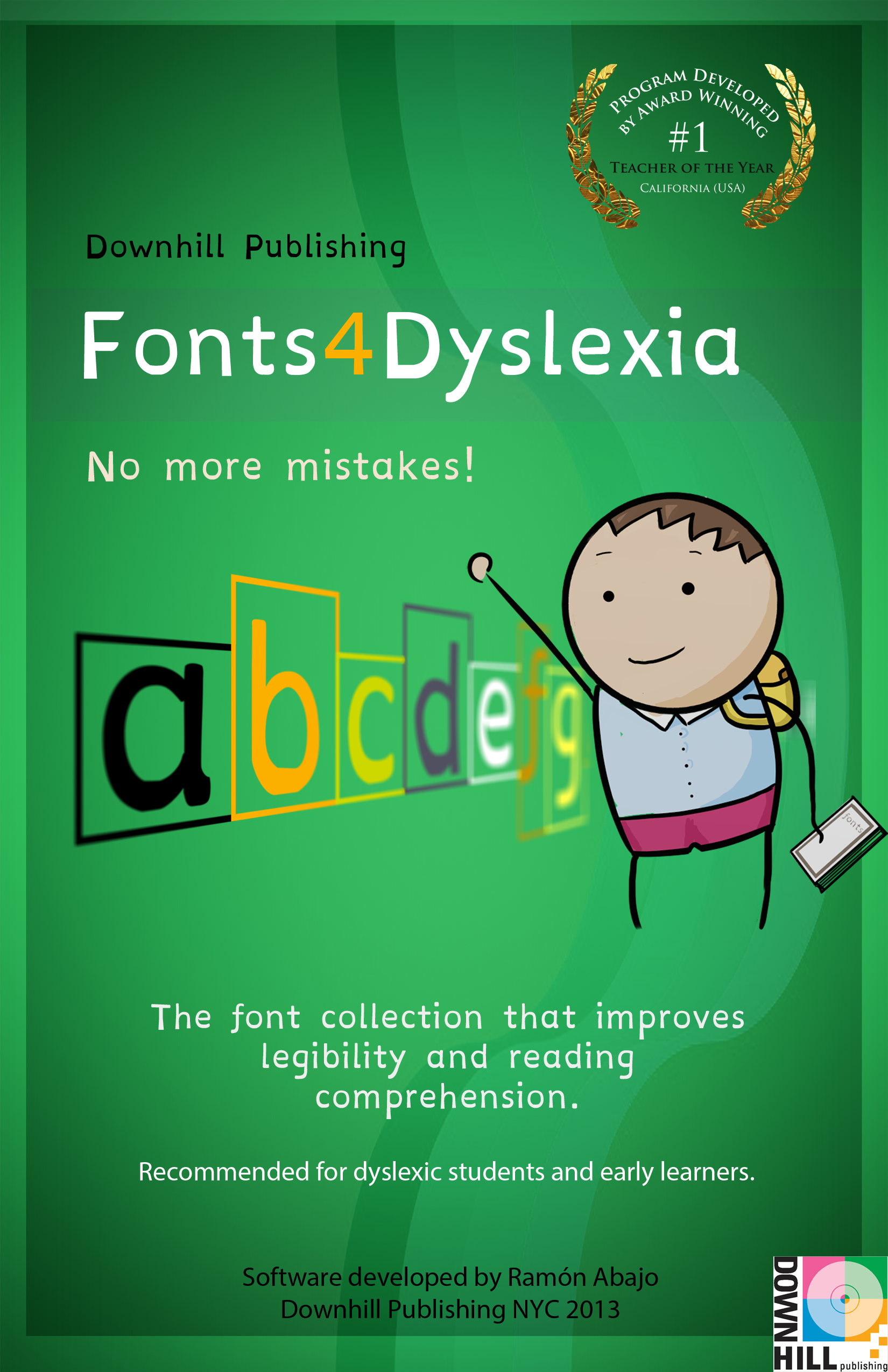 A New Collection Of Fonts Designed For Dyslexics And