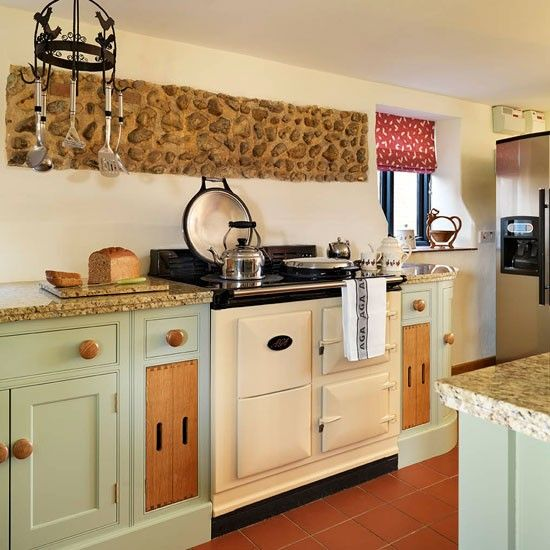 Soft Green And Cream Traditional Kitchen Aga Traditional Kitchen And Beautiful Kitchen
