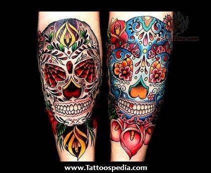 tatouage old school crane mexicain skulls t te de mort bones os curiosit s pinterest. Black Bedroom Furniture Sets. Home Design Ideas
