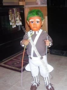 Coolest Homemade Toddler Oompa Loompa Costume  sc 1 st  Pinterest & Coolest Homemade Toddler Oompa Loompa Costume | Oompa loompa costume ...
