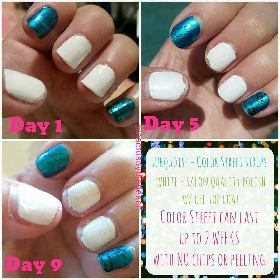 My Own Personal Results With Color Street Nail Polish Strips Vs