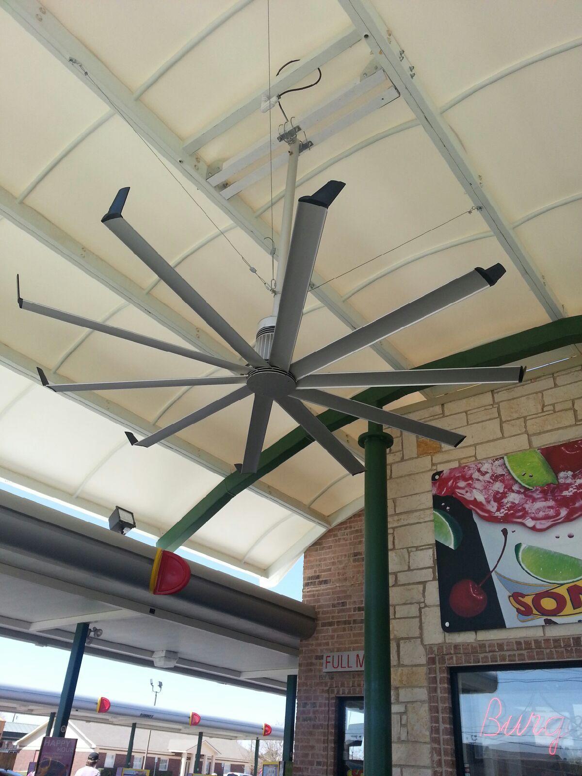 HUGE ceiling fan Home Pinterest