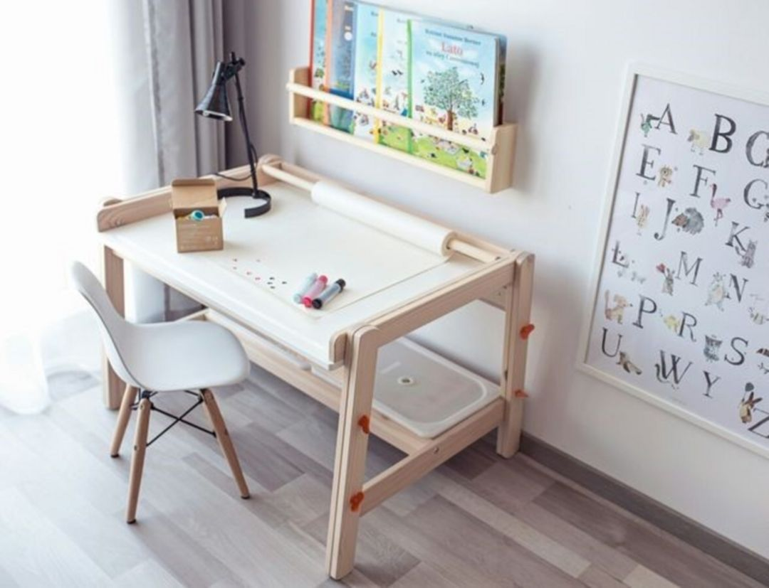 25 Amazing Study Desk Designs So That Children Learn Comfortably Kids Study Desk Kids Room Design Childrens Desk