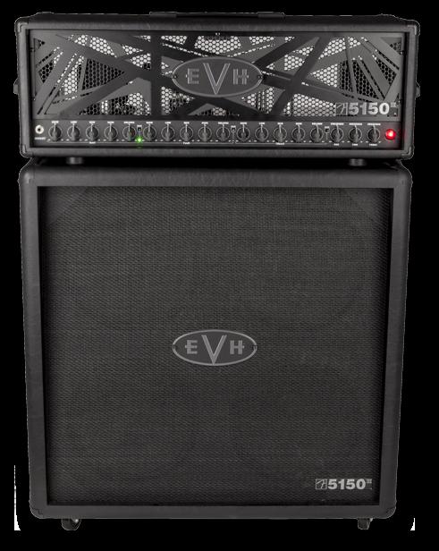 EVH 5150III® 100S Stealth Half Stack, 120V, Black Eddie