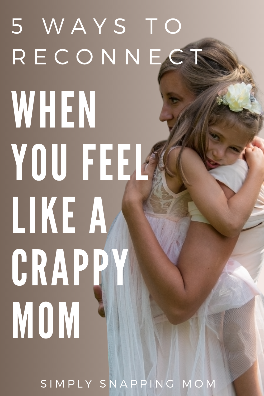 Photo of Don't let your mother's guilt overwhelm you if you …
