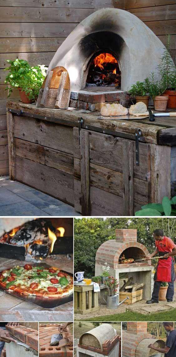 28 Outdoor Wood Fired Ovens Help To Jazz Up Your Backyard Time: 28 Holzbacköfen Für Den Außenbereich Verhelfen Ihrem Hinterhof Zum Jazz