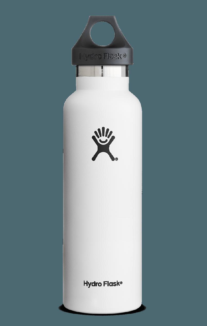 21 Oz Standard Mouth White Hydroflask Hydroflask Vacuum Water Bottle Bottle
