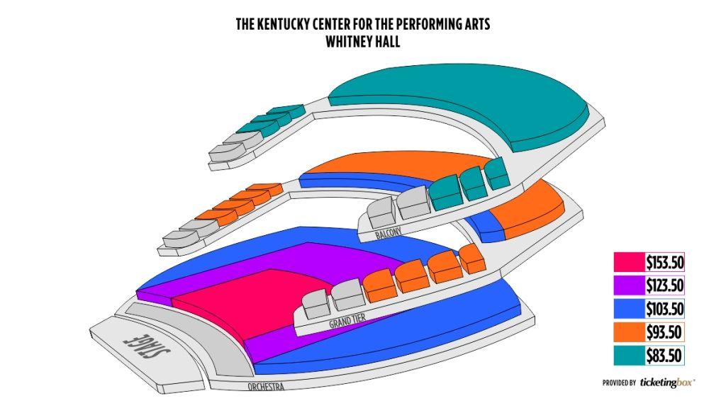 Whitney Hall Seating Chart