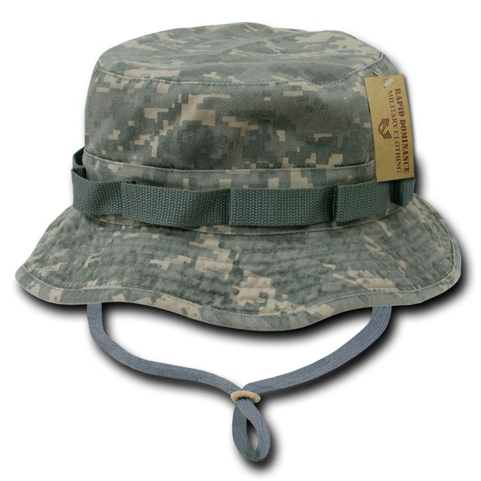 Military Style Boonie Hunting Army Fishing Outdoor Hiking Bucket Jungle Hat e30543f5e8ee