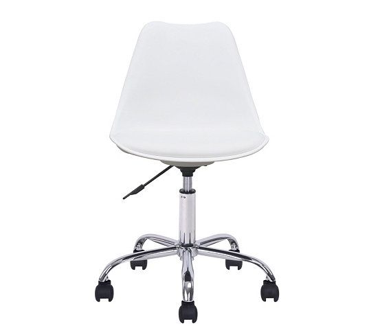 Chaise dactylo NORWAY Blanc