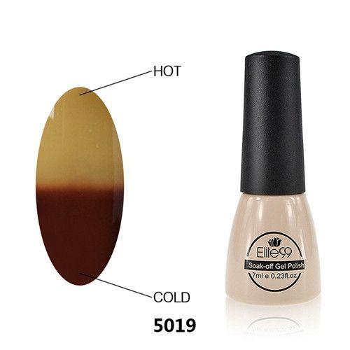 Elite99 7ml Nail Gel Temperature Color Changeable UV Gel Soak Off Long Lasting Gel Polish Professional LED Nail Polish Pick 1