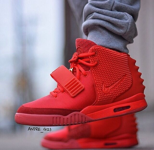 nike yeezy red