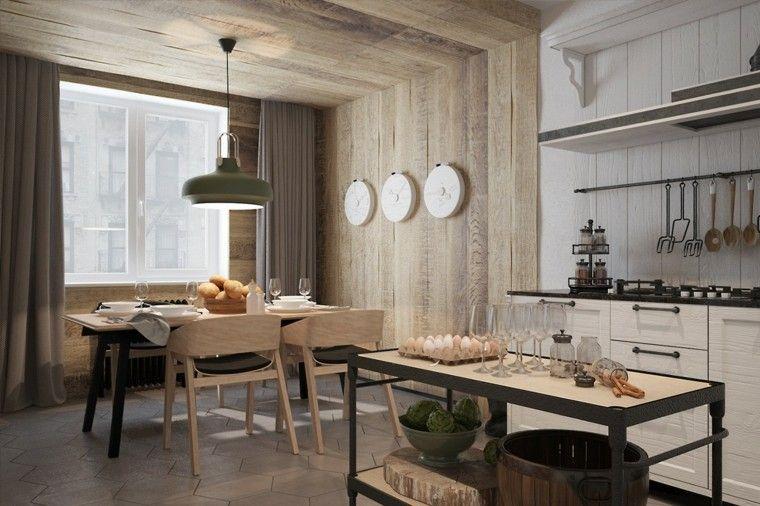 D coration int rieure comment d corer avec du lambris - Comment decorer sa salle a manger ...