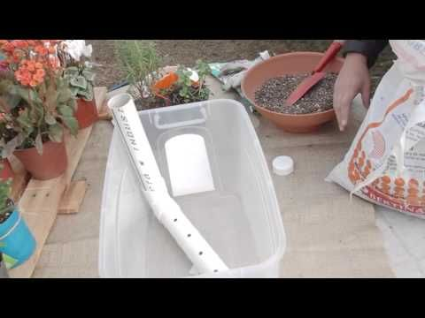 Cómo hacer hidro jardinera en casa - como hacer una jardinera