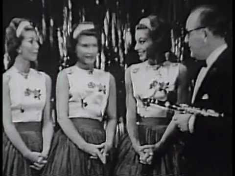 Benny Goodman and The McGuire Sisters:  I'd Rather Lead a Band
