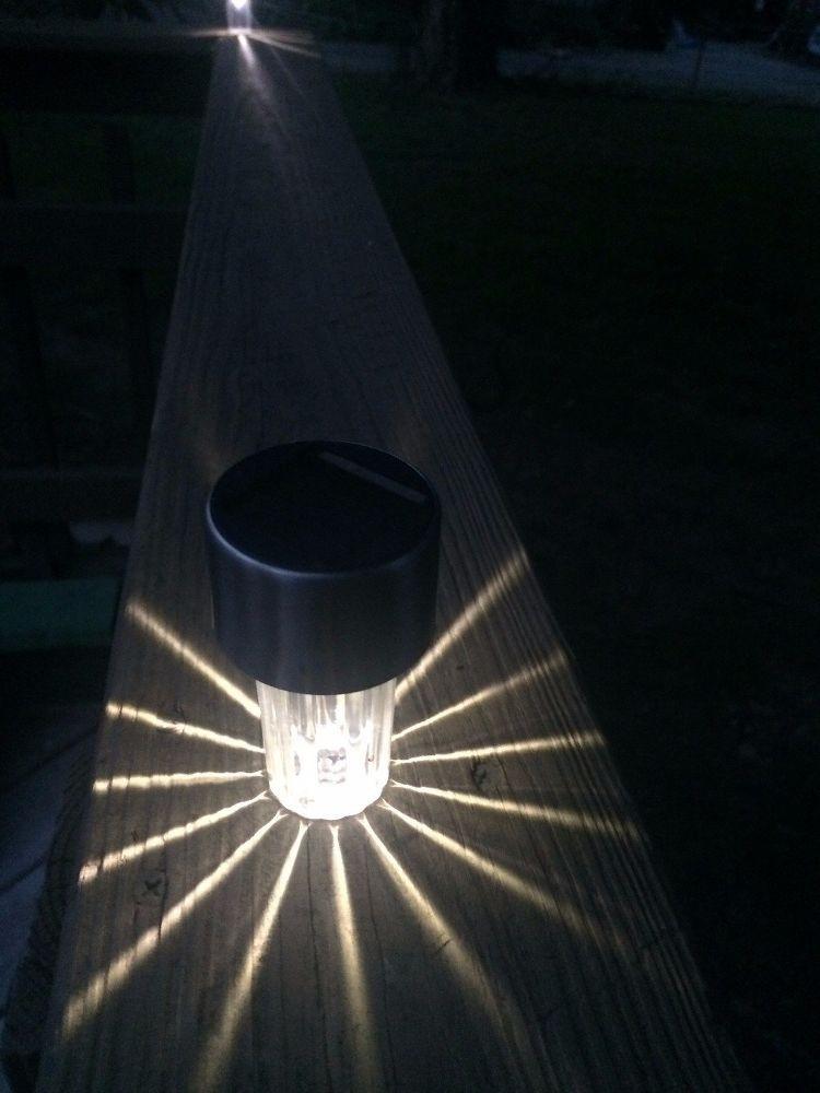 Diy Deck Lighting Solar Deck Lights Deck Lighting Backyard