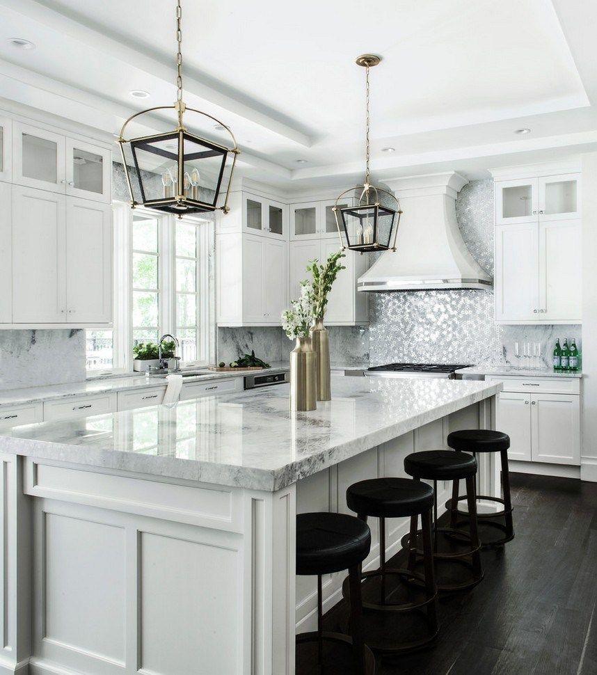 New Home Designs Latest Modern Kitchen Designs Ideas: 58 Elegant White Kitchen Design Ideas For Modern Home 27