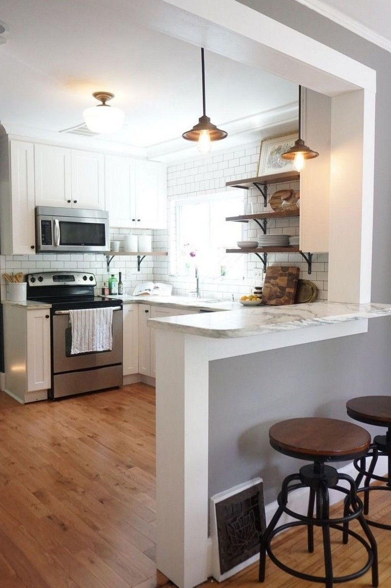 42 inspiring tips on decorating small kitchen  page 17