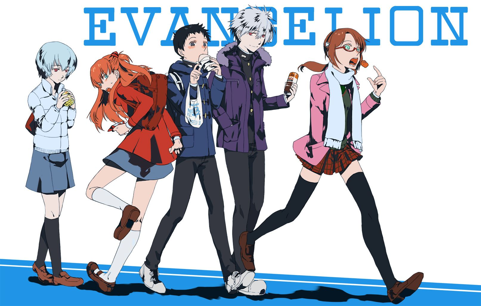 Tags Fanart Neon Genesis Evangelion Ayanami Rei Ikari Shinji Nagisa Kaworu Makinami Mari Illustrious Pixiv Souryuu Asuka La ¨ヴァ Ƕ¾æ³¢ Ɩ°ä¸–紀エヴァンゲリオン ¢スカラングレー