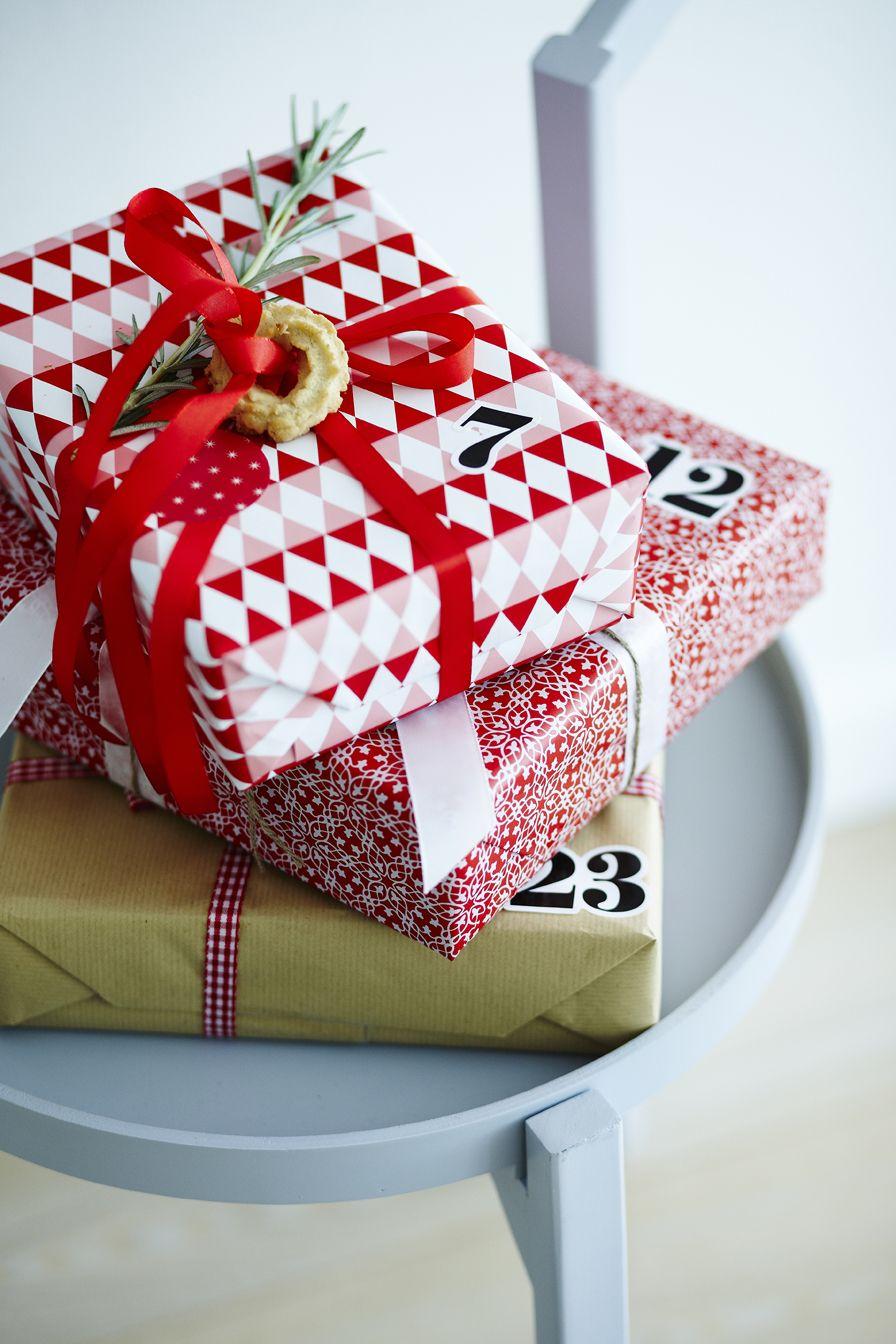 Gift calendar Søstrene Grene christmas 2014 | Gift Wrapping ...