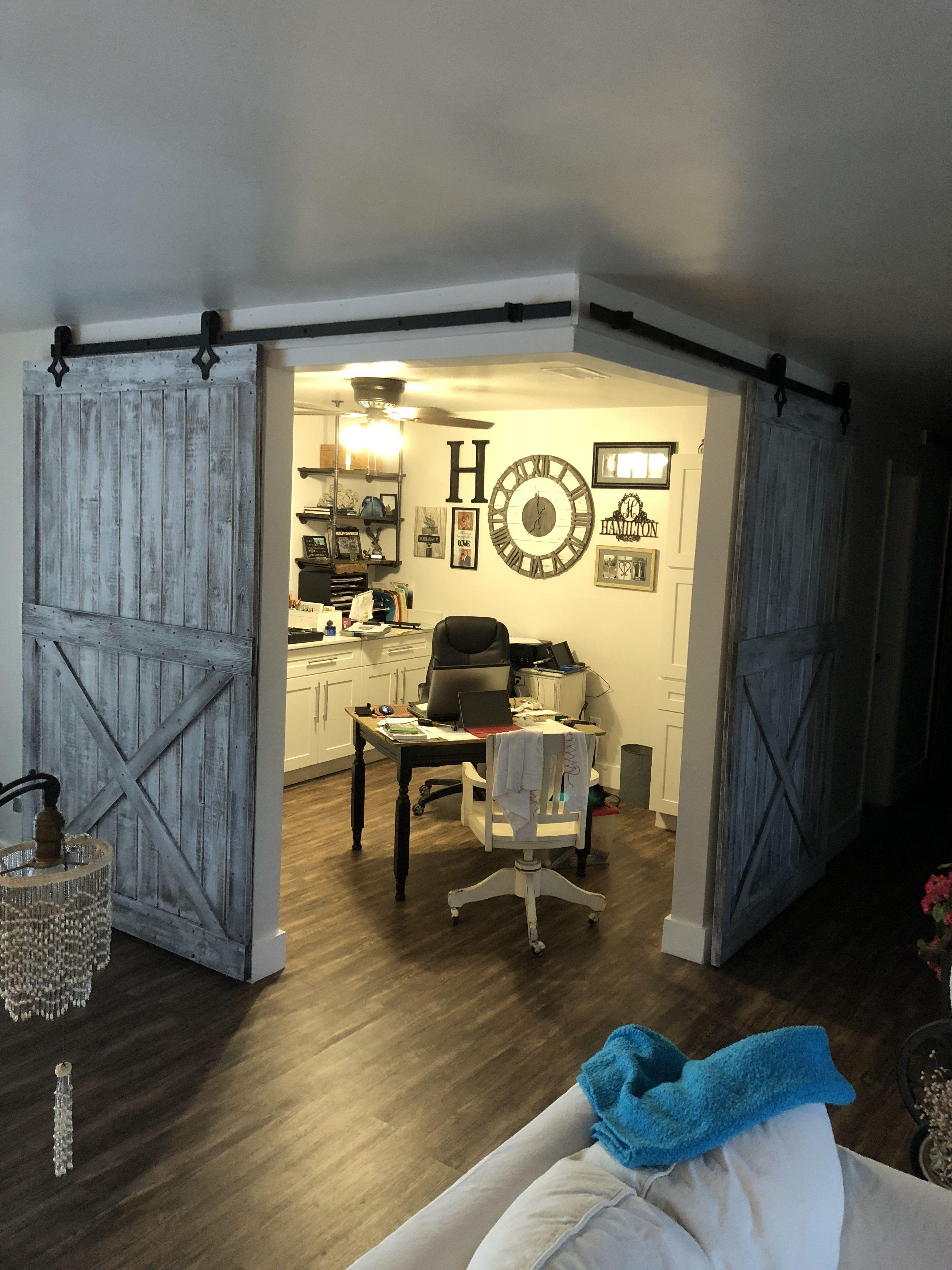Home Office With The Open Floor Plan Concept Open Floor Plan Apartments Open Plan Apartment Loft Floor Plans