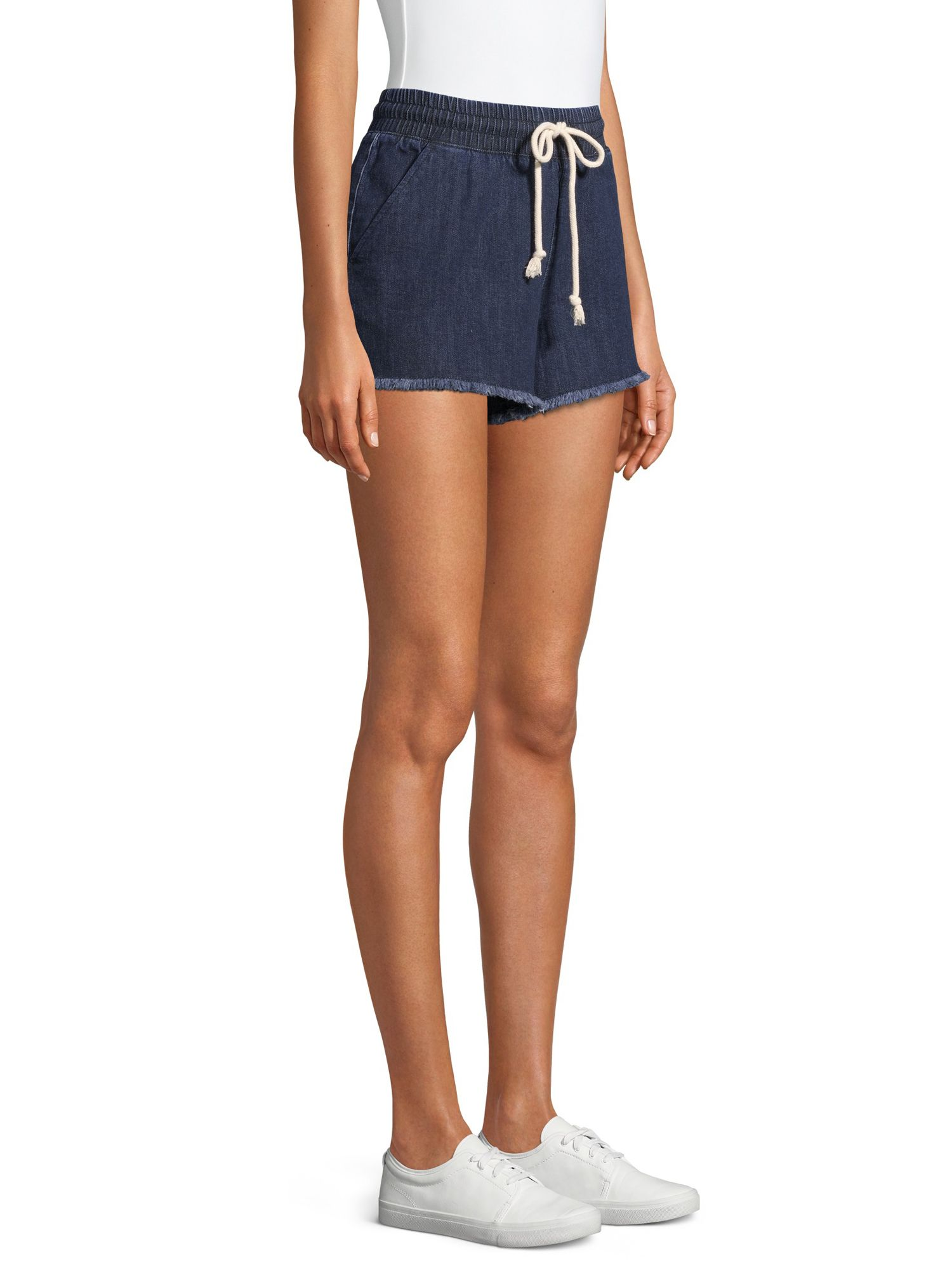 No Boundaries No Boundaries Tie Front Shorts Walmart Com Fashion Shorts How To Wear [ 2000 x 1500 Pixel ]