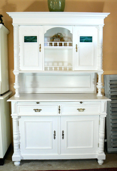 traumhaftes jugendstil buffet von schatzkiste auf upcycling m bel pinterest. Black Bedroom Furniture Sets. Home Design Ideas