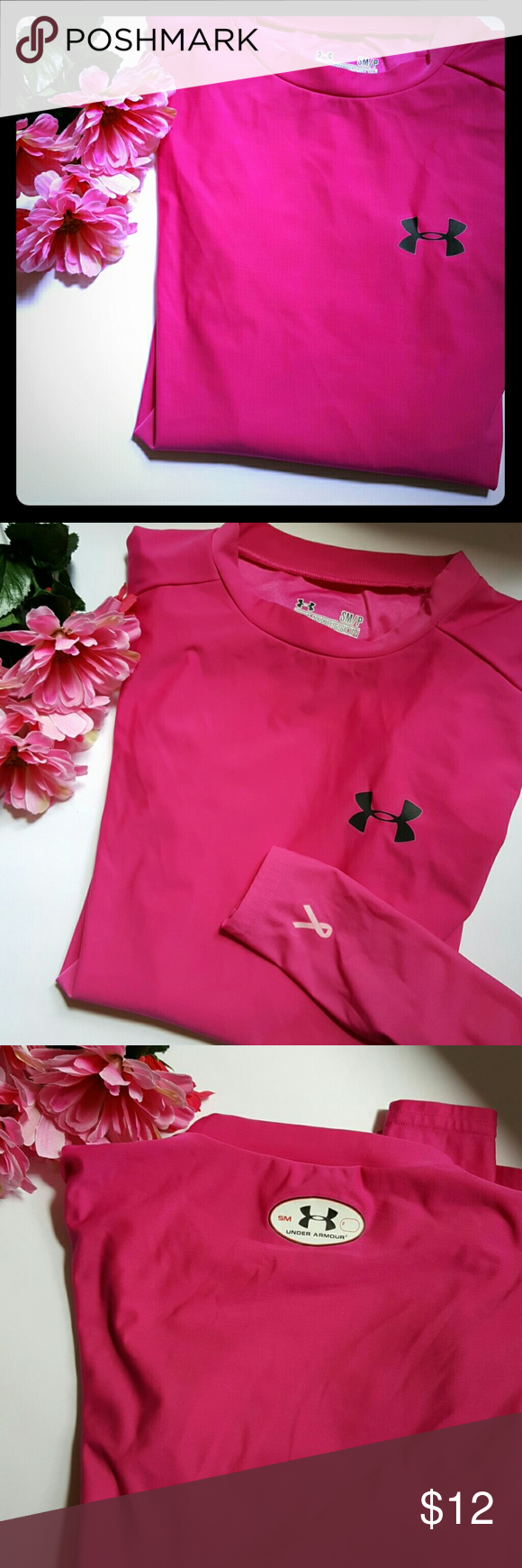 ca8fafa7 Breast Cancer Shirts Under Armour
