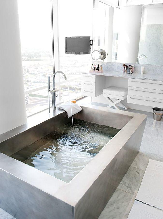 11 Beautiful Bathtubs | Home | Pinterest | Bathtub, Tubs and ...