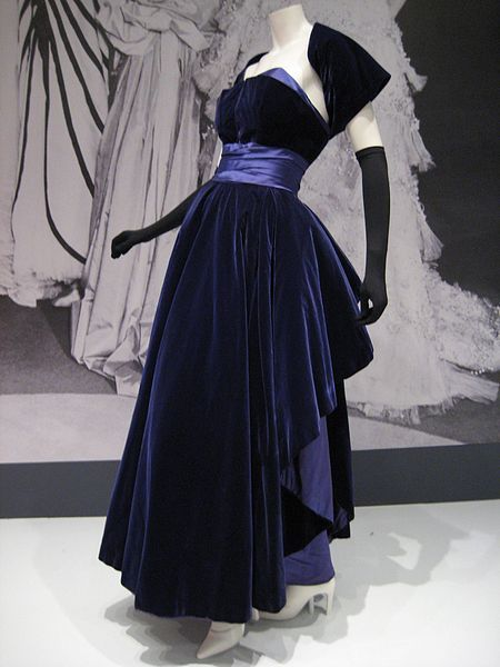"Christian Dior Gown, 1948, ""The New Look"""
