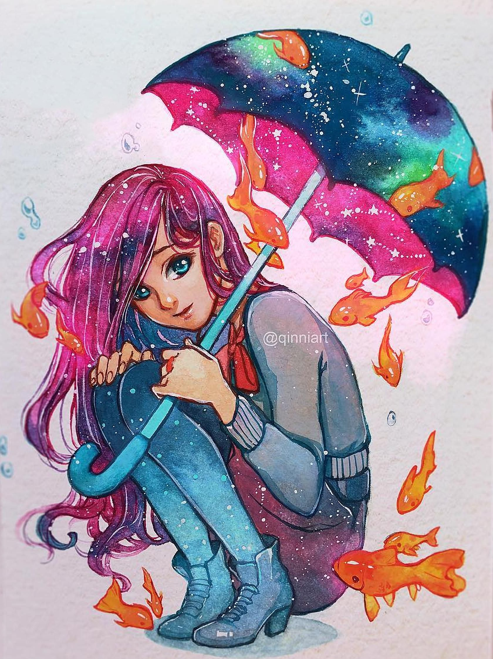 Cool Art The Most Awesome Images On The Internet Rain